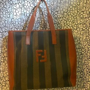Fendi Pecan vintage satchel bag